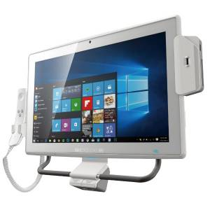 "BIS-W19C-ULT4-i5/PC/4G-R10 18.5"" Медицинский панельный ПК, Intel Core i5-7300U, 1366x768, 250 кд/м2, емкостный сенсор, 1х4 Гб SO-DIMM DDR4, 1x2.5"" SATA3 HDD, mSATA, 1xCOM, 6xUSB, 2xGbE LAN, HDMI, 1xPCIe Mini, Wi-Fi, BT, 2MP camera, Audio, power adapter 100-240 В AC"
