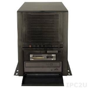 """PAC-1700GB/A130B Монтируемый на стену полноразмерный корпус для 7 слотовой объединительной платы, отсеки 1x5.25"""", 3x3.5"""", источник питания ACE-A130B-RS 300Вт ATX, RoHS"""