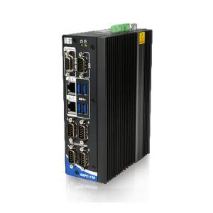 DRPC-130-AL-E1 Безвентиляторный компактный компьютер, Intel Atom x5-E3930 1.8GHz, 1xDDR3L SO-DIMM DDR3L до 8 ГБ, 2xGbit LAN, 2 x HDMI, 4xRS232/RS422/485, 4xUSB, 1x2-port CAN-bus, 4xDI/4xDO, mSATA, power 12..24V DC