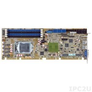 PCIE-Q870-i2-R10 Процессорная плата PICMG 1.3, процессоры Intel Core i7/i5/i3/Pentium/Celeron LGA1150, чипсет Intel Q87, DDR3 1600/1333МГц, 1xVGA, 1xiDP, 4xRS-232, 1xRS-422/485, 1xLPT, 8xUSb 2.0, 4xUSB 3.0, LAN, 6xSATA, 1xmSATA, 1xPCIe Mini, Audio