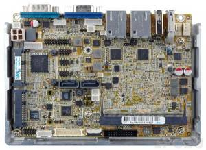 "WAFER-BT-i1-J19001 Процессорная плата формата 3.5"" Intel Quad-Core Celeron J1900 2.0ГГц, VGA/LVDS/iDP, 2xGbE, COM, USB2.0, 2xUSB 3.0, DIO, SATA 3Гбит/с, mSATA , Аудио, PCIe Mini, слот iRIS-1010, RoHS"