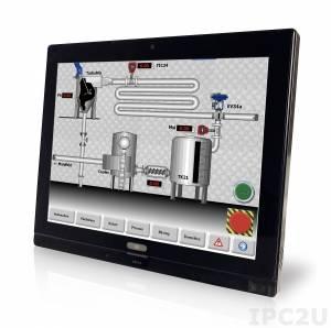 """AFL2-W15B-H61-P/PC Панельная рабочая станция с 15.6"""" 300 кд/м (2),процессор Pentium Dual Core CPU G6xxT (выше 2,2 ГГц), TDP 35 Вт, 2 Гб оперативной памяти DDR3 * 2, беспроводной модуль 802.11b/g/n, проектируемый емкостный сенсорный экран, встроены веб-камера и микрофон"""