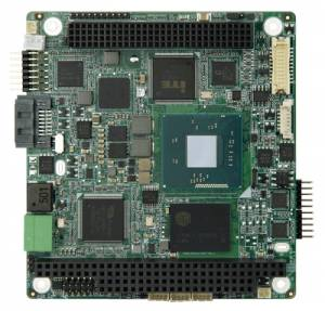 PM-BT-J19001 Процессорная плата PC/104 c Intel Celeron J1900, 1x DDR3L, VGA, LVDS,GbE, USB2.0, SATA 3Gb/s, RS-232/422/485, входное напряжение 5В DC
