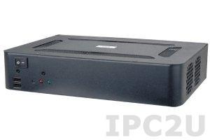 """EBC-3200-R10 Промышленный корпус для процессорных плат Mini-ITX с отсеками для 2x2.5"""" HDD, без источника питания"""