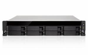 """GRAND-AL-08B-RP 2U cервер с процессором Intel Celeron J3455 1.5ГГц, 8 отсеков для накопителей 3.5"""" с передней стороны, резервируемый источник питания 250Вт"""