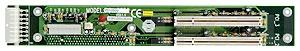 PCI-2SD2-RS 1U двухсторонняя объединительная плата 1xPICMG, 2xPCI, RoHS, до 12В