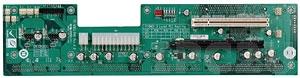PE-6SD3 2U двухсторонняя объединительная плата PICMG 1.3, 5 слотов с 1xPICMG, 1xPCI-Express x16, 1xPCI-Express x4, 2xPCI слотами
