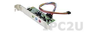 AC-KIT08R-R10 Audio адаптер Realtek ALC655 с разъемами Line-in, Line-out, Mic-in