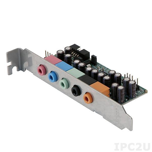 AC-KIT-892HD-R10 Плата-адаптер High Definition Audio с Realtek ALC888 с планкой, для плат серий WSB и PCIE
