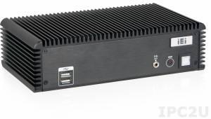 ECW-281B-BTi-J1/2GB-R10 Безвентиляторный компактный компьютер с WAFER-BTi, Intel Celeron J1900 2.4ГГц, 2Гб DDR3L, VGA, 4xCOM, 2xGLAN, 3xUSB 2.0, 1xUSB 3.0, 8xDIO, 2x Mini-PCIe, Audio, питание 12В, адаптер питания 60Вт