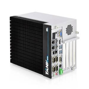 "TANK-870-Q170i-i5/4G/4B Защищенный компьютер с процессором Intel Core i5-6500TE 2.3ГГц, 4Гб DDR4 RAM, VGA/HDMI/DP/iDP, 2xGb LAN, 6xCOM, 4xUSB 3.0, 4xUSB 2.0, отсеки для 2x2.5"" SATA HDD, Audio, 1xPCIe x16, 3xPCI, 9...36В DC-IN, -20...60C"