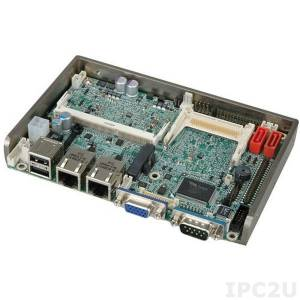 "WAFER-PV-D4252 Процессорная плата формата 3.5"" Intel Atom D425 1.83ГГц, DDR3, VGA/LVDS, Dual GbE, USB2.0, SATAII, RoHS"