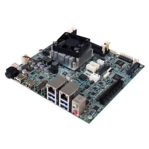 gKINO-DMF-421 Процессорная плата Mini-ITX AMD RX-421BD 2.1ГГц, DDR4, 2xHDMI/DP, 2xGbE LAN, 4xUSB 3.0, 1xUSB 2.0, SATA 6Gb/s, PCIe mini, M.2, SMBus, MicroSD, I2C, HD audio