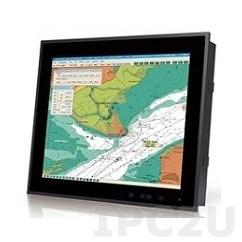 """S19M-AD/PC Промышленный 19"""" SXGA монитор для морского использования, 1280x1024, яркость 300 нит, 2xVGA, 2xDVI, 1xVGA Out, BNC, питание AC и DC"""
