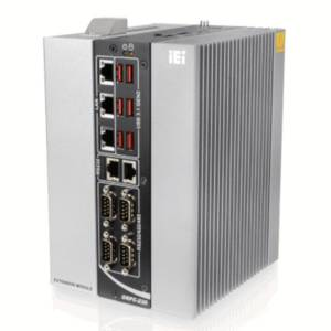 "DRPC-230-ULT5-i5/8G Безвентиляторный компактный компьютер на DIN-рейку, Intel Whiskey Lake Core i5-8365UE 1.6ГГц, 8Гб DDR4, HDMI, DP, 3xGbE LAN, 6xCOM, 6xUSB, DIO, отсек 1x2.5"" SATA, M.2 2230, MinPCIe, PCIe x4, питание 12-24В DC"
