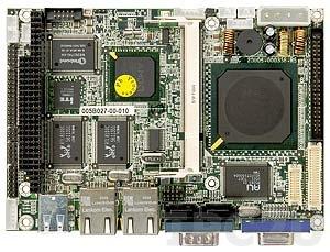 "WAFER-LX-800 Процессорная плата формата 3.5"" с процессором AMD Geode LX800 500МГц, VGA/CRT/LVDS, 2xLAN, 2xSATA, RAID 0,1, слот PC/104, CompactFlash Socket, Audio"