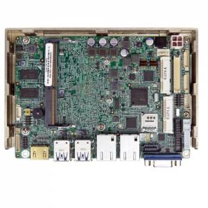 "WAFER-ULT3-CE Процессорная плата формата 3.5"" Intel Celeron 3855U до 1.6ГГц, DDR4, HDMI/VGA/LVDS/iDP, 2xGbE, 2xCOM, 2xUSB2.0, 4xUSB 3.0, 2xPCIe Mini"