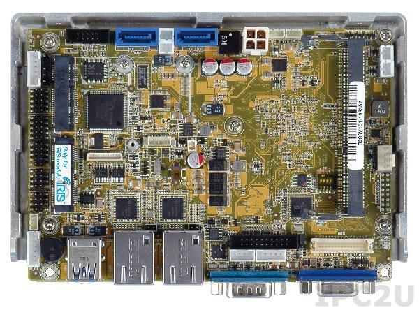 "WAFER-KBN-i1-4151-R10 Процессорная плата формата 3.5"" AMD 28нм Quad-Core GX-415GA 1.5ГГц с DDR3, VGA/LVDS, Dual GbE, Dual PCIe Mini, USB 3.0, SATA 6GB/s, Audio, iRIS-1010, RoHS"
