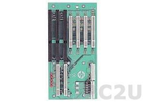 PCI-6S-RS-R40 Объединительная плата PICMG 7 слотов с 1xPICMG/2xISA/4xPCI, RoHS