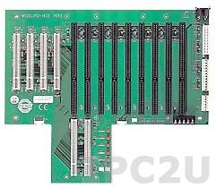 PCI-14S2-RS-R40 Объединительная плата PICMG 13 слотов с 1xPICMG/8xISA/4xPCI, RoHS