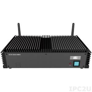 """ECN-360AW-HM65/4G-R10 Встраиваемый компьютер, Intel Celeron dual core 847E 1.1ГГц, Intel HM65, 4Гб DDR3, VGA, 2xHDMI, 2xGLAN, 3xCOM, 4xUSB, DIO, модуль беспроводной связи 802.11b/g/n, отсек 2.5"""" SATA, 9...36В DC, -10..60C"""