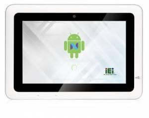 "IOVU-210AD-RK39-EU Безвентиляторный панельный компьютер 10,1"" TFT LCD, емкоcтный сенсор, Rockchip RK3399 (Cortex-A72 1.8 ГГц+Cortex-A53 1.5 ГГц), 2 ГБ LPDDR3-1866 МГц, 16 ГБ eMMC Flash, Camera, WiFi/Bluetooth,2xGbE LAN, 4xGPIO, Android 7.1, NFC, 3xUSB, DC 9-30 B"