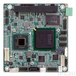 PM-PV-N4551-R11 PCI-104 процессорная плата, Intel Atom N455 1.66ГГц, DDR3, VGA/LVDS, GbE, USB2.0, SATAII и CFII