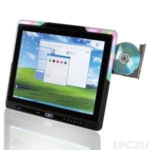 "AFL2-17AB-H61-i5/PC-R13 Панельная рабочая станция 17"" 350cd/m2 SXGA, емкостный сенсорный экран, Core i5 Dual Core 2xxxT 2.2+ГГц, 2GB DDR3 RAM*2, 802.11b/g/n, 2MP камера, микрофон, адаптер питания 120Вт"