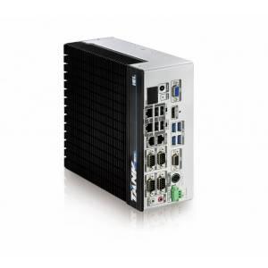 "TANK-871-Q170i-i7/4G-R10 Защищенный компьютер с процессором Intel Core i7-6700TE 2.4ГГц, 4Гб DDR4 RAM, VGA/HDMI/DP/iDP, 2xGb LAN, 6xCOM, 4xUSB 3.0, 4xUSB 2.0, отсеки для 2x2.5"" SATA HDD, Audio, 2x PCIe Mini, 9...36В DC-IN, -20...45C"