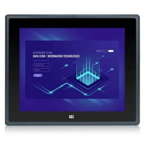"""PPC-F17C-Q370-P/PC/25 Панельная рабочая станция с 17"""" SXGA, емкостный сенсорный экран, Intel Pentium Gold G5400T 3.1ГГц, отсеки 4xHDD, 2xPCIe x4, 2xPCIe x8, источник питания 250Вт"""