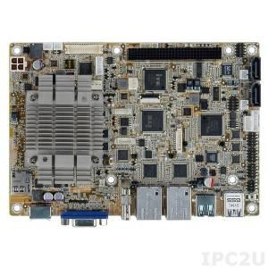 NANO-BT-i1-N29301 Процессорная плата EPIC SBC с Intel Quad-Core Celeron N2930 1.86Ггц,SoC с VGA/HDMI/LVDS, 2x PCIe GbE, USB 3.0, 2x PCIe Mini, SATA 3Гбит/с, mSATA , COM, iRIS-1010, аудио