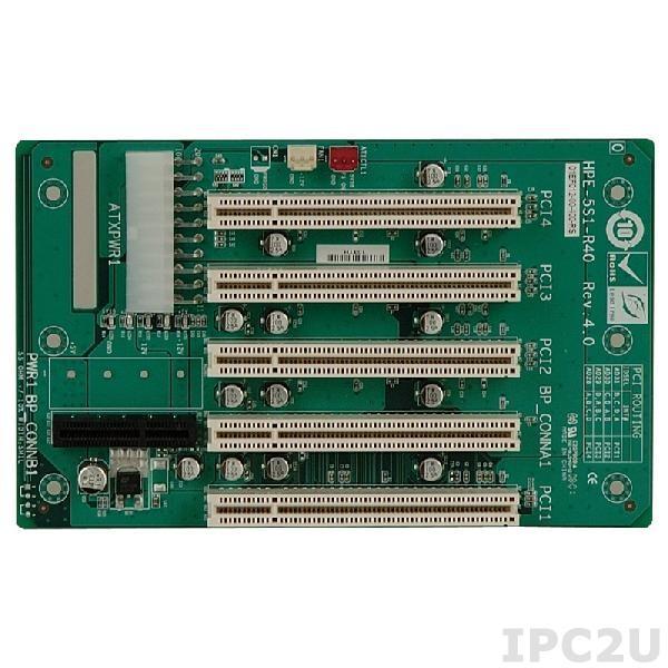 HPE-5S1-R51 Объединительная плата PICOe 5 слотов с 1xPICOe/4xPCI