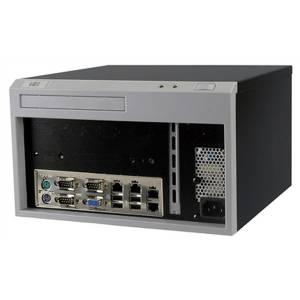"""EBC-3100/ACE-A618B Промышленный корпус для процессорных плат Mini-ITX с отсеком для 1x3.5"""" HDD и источником питания A618B-RS 180Вт, черный"""