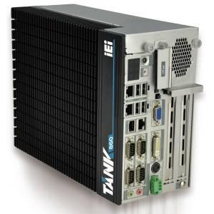 """TANK-860-QGW-i5/8G/2A Защищенный компьютер Intel Core i5-4400E 2.7Ггц, 2x4Гб DDR3 RAM, VGA/DVI-I/DisplayPort, 2xLAN, 4xCOM, 6xUSB, 2xPCIe x8, 2 отсека 2.5"""" SATA HDD, CFast, mSATA, Audio, -20...+60C"""