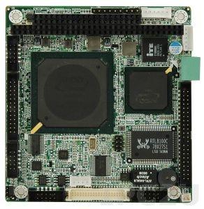 PM-LX2-800 Процессорная плата PC/104 с AMD LX800 500Mhz, VGA/TTL LCD, LAN, USB 2.0, CF II