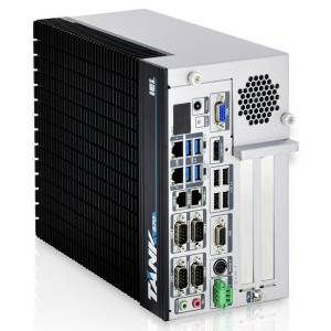 "TANK-870-Q170i-i5/4G/4B-R10 Защищенный компьютер с процессором Intel Core i5-6500TE 2.3ГГц, 4Гб DDR4 RAM, VGA/HDMI/DP/iDP, 2xGb LAN, 6xCOM, 4xUSB 3.0, 4xUSB 2.0, отсеки для 2x2.5"" SATA HDD, Audio, 1xPCIe x16, 3xPCI, 9...36В DC-IN, -20...60C"