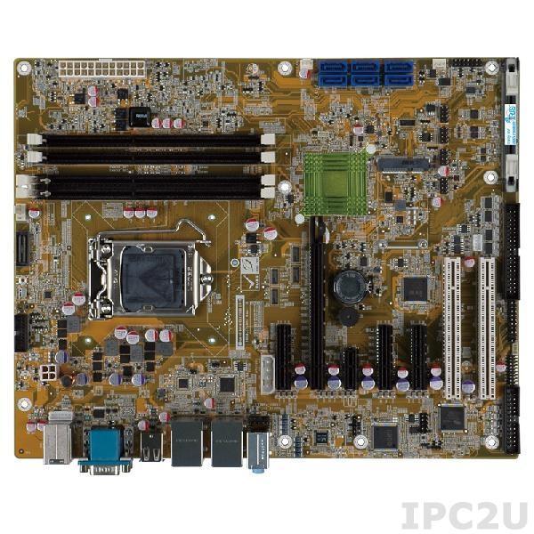 IMBA-C2260-i2-R11 Процессорная плата ATX, процессоры Intel Xeon E3/Core i3/Pentium/Celeron LGA1150, чипсет Intel C226, DDR3 1600/1333МГц, 1xVGA, 5xRS-232, 1xRS-422/485, 1xLPT, 8xUSB 2.0, 4xUSB 3.0, 6xSATA, 1xmSATA, 1xPCIe x16, 2xPCIe x1, 3xPCIe x4, 2xPCI, LAN, Audio