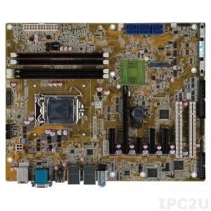 IMBA-C2260-i2 Процессорная плата ATX, процессоры Intel Xeon E3/Core i3/Pentium/Celeron LGA1150, чипсет Intel C226, DDR3 1600/1333МГц, 1xVGA, 5xRS-232, 1xRS-422/485, 1xLPT, 8xUSB 2.0, 4xUSB 3.0, 6xSATA, 1xmSATA, 1xPCIe x16, 2xPCIe x1, 3xPCIe x4, 2xPCI, LAN, Audio