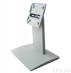 """STAND-C19W Подставка для PPC/мониторов диагональю 15""""...19"""", VESA 100x100мм, 75x75мм, до 15 кг, сталь, цвет белый"""