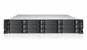 """GRAND-SE-12B 2U cервер с процессором AMD GX-424CC 2.0ГГц, 12 отсеков для накопителей 3.5"""" с передней стороны, нерезервируемый источник питания 250Вт"""