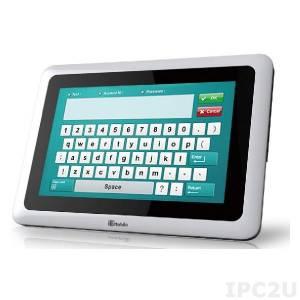 "ICECARE-10W-I7 10.1"" TFT LCD Защищенный планшетный компьютер, емкостный сенсорный экран, 350 кн/м2, Intel Core i7-3517U 1.9ГГц, Intel NM10, 4Гб DDR3, 32Гб mSATA, Wi-Fi & Bluetooth, 1xMicro HDMI, 2xUSB 2.0, 1D/2D Barcode, MSR, SCR, RFID, WS7P, Audio, ИП 100-240В AC"