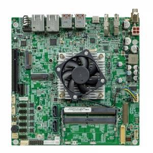 tKINO-ULT6-i3 Процессорная плата Mini-ITX Intel Core i3-1115G4E 2.2ГГц, DDR4, HDMI/DP/LVDS/eDP, 2x2.5GbE LAN, 6xCOM, 2xUSB 2.0, 4xUSB 3.2, 1xUSB 4, DIO, 1xPCIe x8, 2xSATA 3, Audio, питание 9...36В DC