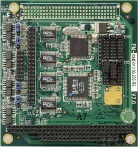 PM-1004-R20 PC/104 адаптер 4xRS-232/422/485, 921.6Кбод