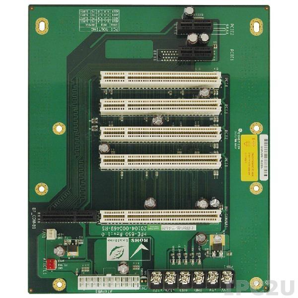 HPE-8S0-R41 Объединительная плата PICOe 7 слотов с 1xPICOe, 4xPCI, 2xPCIe x1