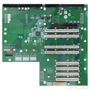PXE-12S Объединительная плата PICMG 1.3 10 слотов с 1xPICMG, 1xPCI-Express x16, 4xPCI-X, 4xPCI слотами