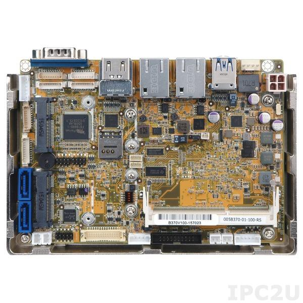 "WAFER-BW-N3-R10 Процессорная плата формата 3.5"" Intel Celeron N3610 до 2.24ГГц, DDR3L, 2xHDMI, LVDS, 2xGbE, 3xCOM, 4xUSB2.0, SATA 6Гбит/с, mSATA, Audio, 2xPCIe Mini, DIO, SMBus, -20...+60C"