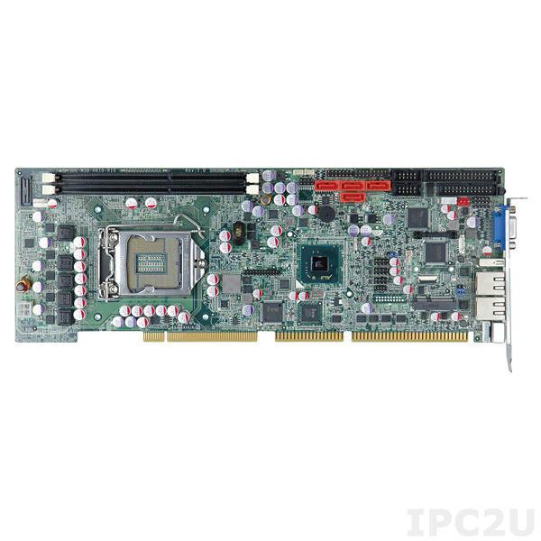 WSB-H610-R11 Процессорная плата PICMG 1.0, процессоры Intel Core i7/i5/i3/Pentium/Celeron LGA1155, чипсет Intel H61, DDR3 1333/1066МГц, 1xVGA, 2xRS-232, 1xRS-422/485, 1xLPT, 1xFDD, 1xPS/2, 7xUSB 2.0, 2xLAN, 4xSATA, 1xPCIe Mini, Audio