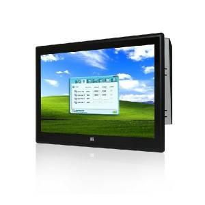 "PPC-F17AA-H81i-i3/4G/PC Панельная рабочая станция с 17"" SXGA, емкостный сенсорный экран, Intel Core i3-4330 3.5ГГц, 2x2Гб DDR3, 1x2.5"" HDD/SSD, 2xUSB 3.0, 4xUSB 2.0, 5xCOM, HDMI, VGA, LAN, 2xPCIe mini, Аудио, питание 90-264В AC 220Вт"
