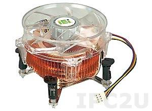 CF-775A-RS Радиатор с вентилятором Socket LGA775, 92x92x73, медь-алюминий, RoHS