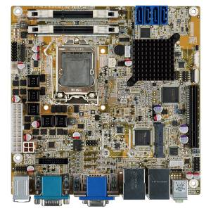 KINO-AQ170 Процессорная плата Mini-ITX SBC, поддержка процессоров Intel Skylake, LGA1151, Intel Q170, 2xSO-DIMM DDR4-2133, 4xSATA, 6xCOM, 10xUSB, 2xGbE LAN, 1xPCIe x4, 1xMini PCIe (mSATA), Аудио, SMBus, DIO